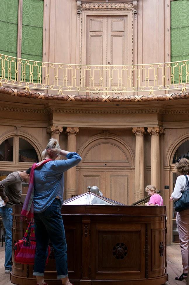 inside the Teylers Museum, Haarlem