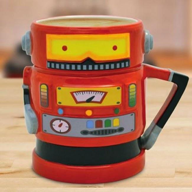 Taza Robot Retro