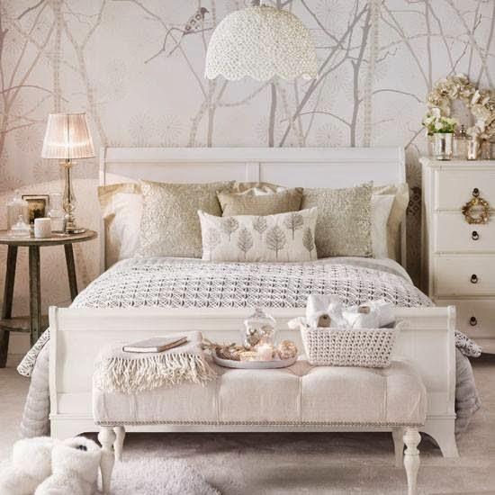 arantxa amor decoraci n ideas para cabeceros fotomurales papel pintado y un poco de color. Black Bedroom Furniture Sets. Home Design Ideas
