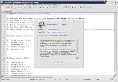 Download Notepad++ Terbaru 5.9.8