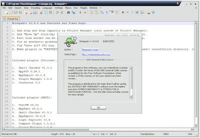 Download Notepad++ Terbaru 5.9.8
