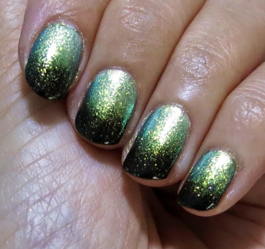 Green, Green Color Nails