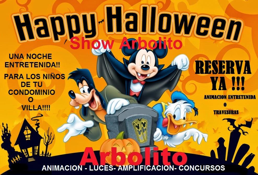 Show entretenido de Halloween