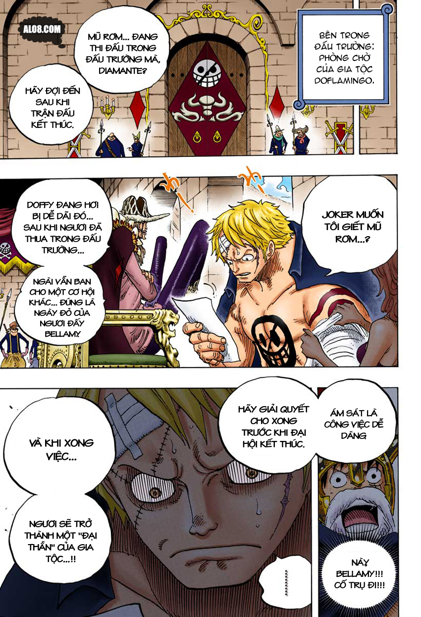 One Piece - Digital Colored Comics Chap 714 - Truyen.Chap.VN