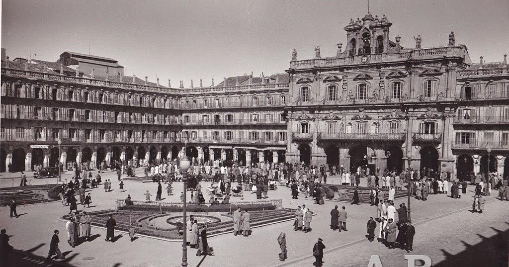 Colecci n de fotograf a antigua fotograf a antigua plaza - Fotografos de salamanca ...