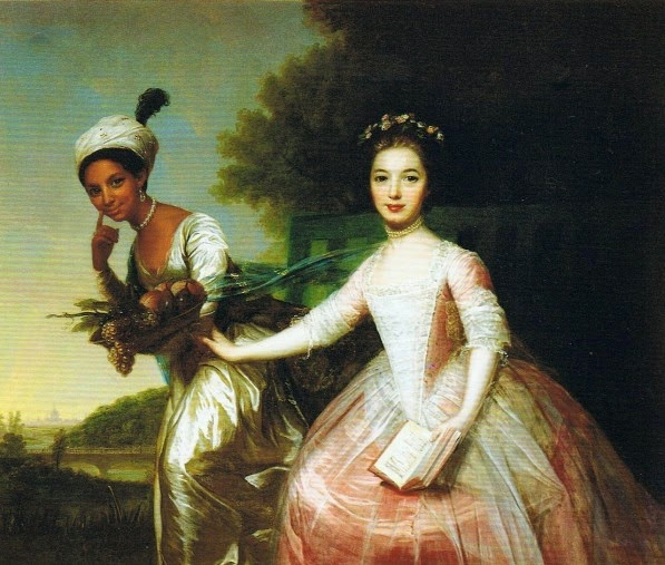 1779 Oil Painting of Dido Elizabeth Belle and her cousin Elizabeth Murray | Ses Rêveries