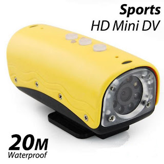 Sports HD Mini DV 20 M Water Resistant