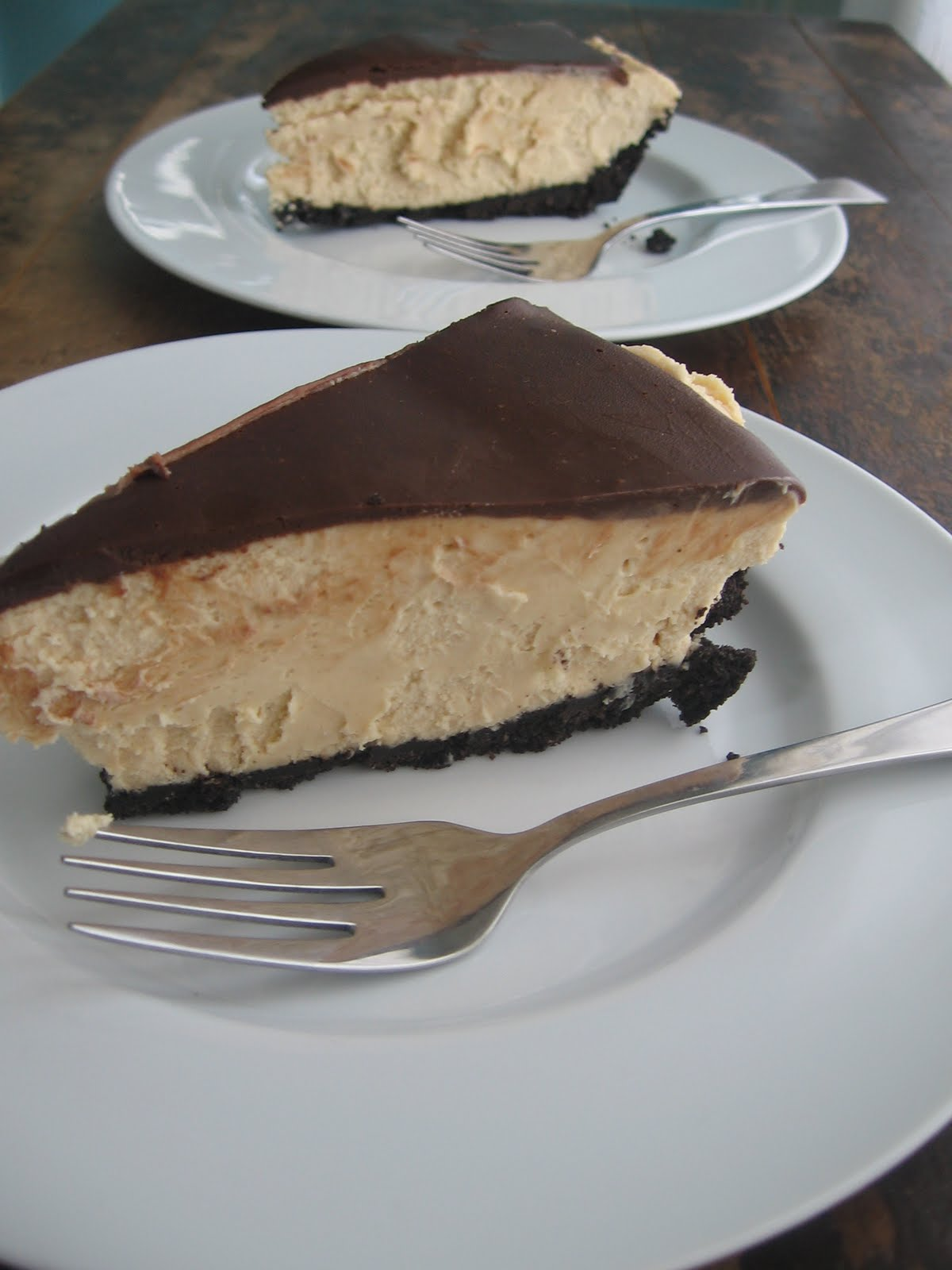 sweetsugarbean: Chocolate Peanut Butter Pie! Oh My!