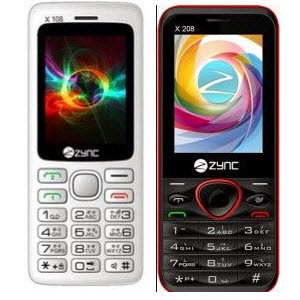 Groupon: Buy Zync Dual Sim Mobile X108 Rs. 699 & X208 Rs. 799