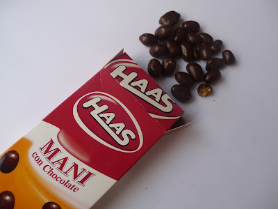 Maní con chocolate Haas