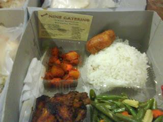 Gambar menu nasi box part 1