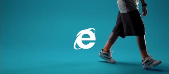 Internet Explorer 90'lar Reklamı