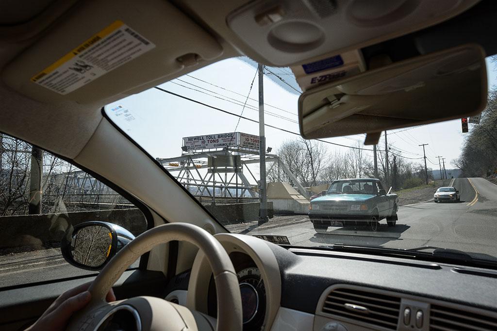 Newell Bridge across the Ohio River