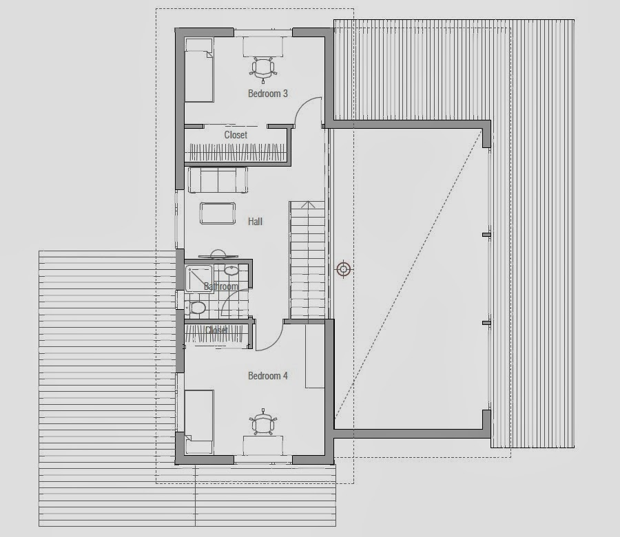 Affordable home plans affordable home plan ch51 for Affordable house designs