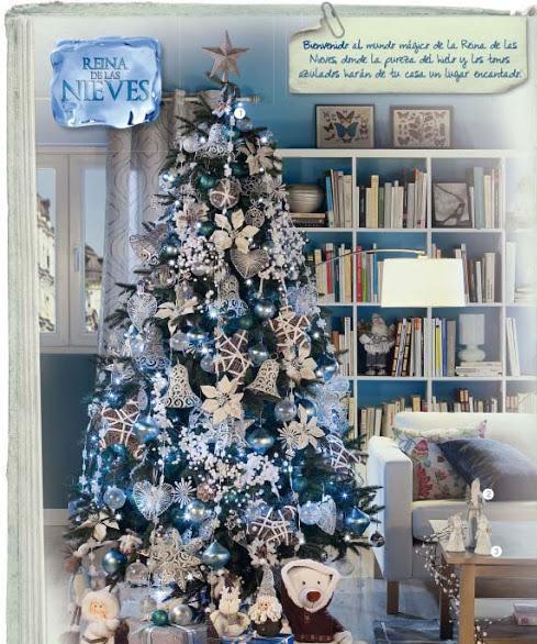 Ecopinturas fernandez una navidad de cuento - Como decorar arboles de navidad color blanco ...