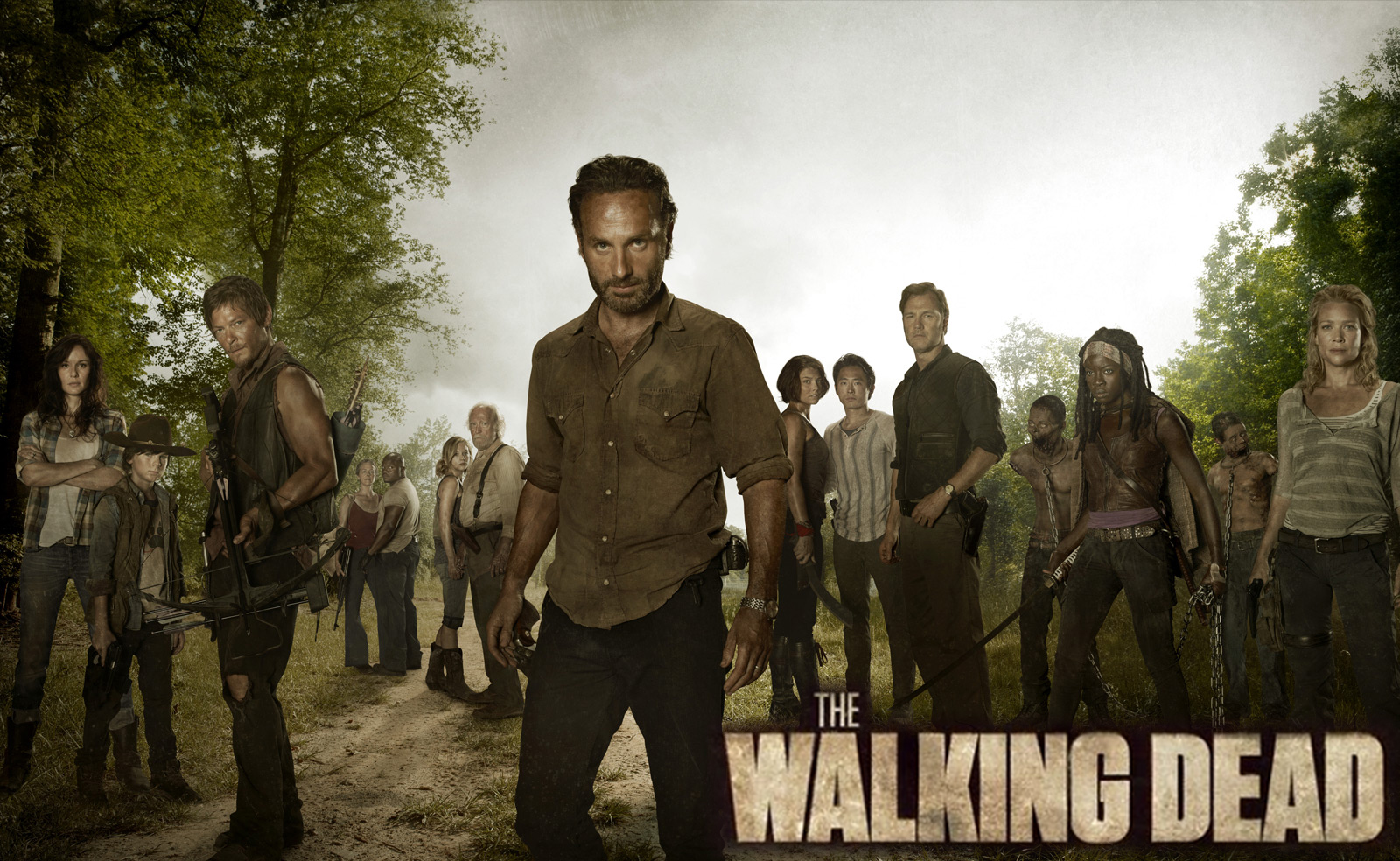 THE WALKING DEAD: terminó la tercera temporada