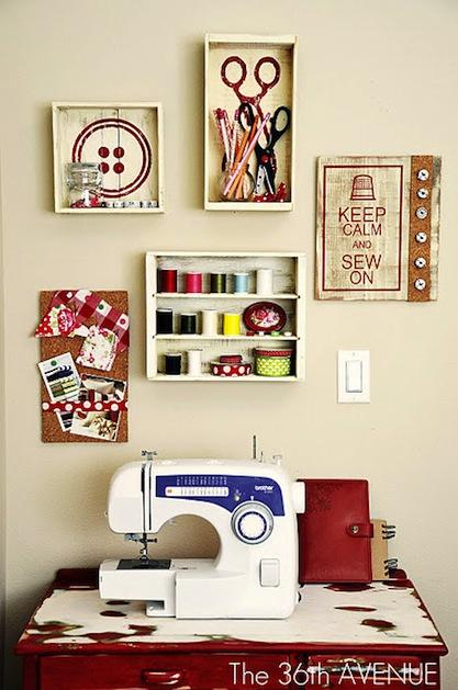 nancy 39 s arts crafts sewing rooms from pinterest. Black Bedroom Furniture Sets. Home Design Ideas
