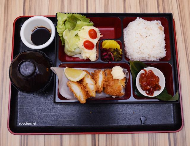 Fish Katsu Bento - RM15