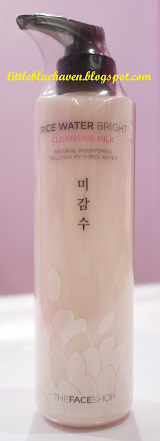 the face shop, rice water bright cleansing milk