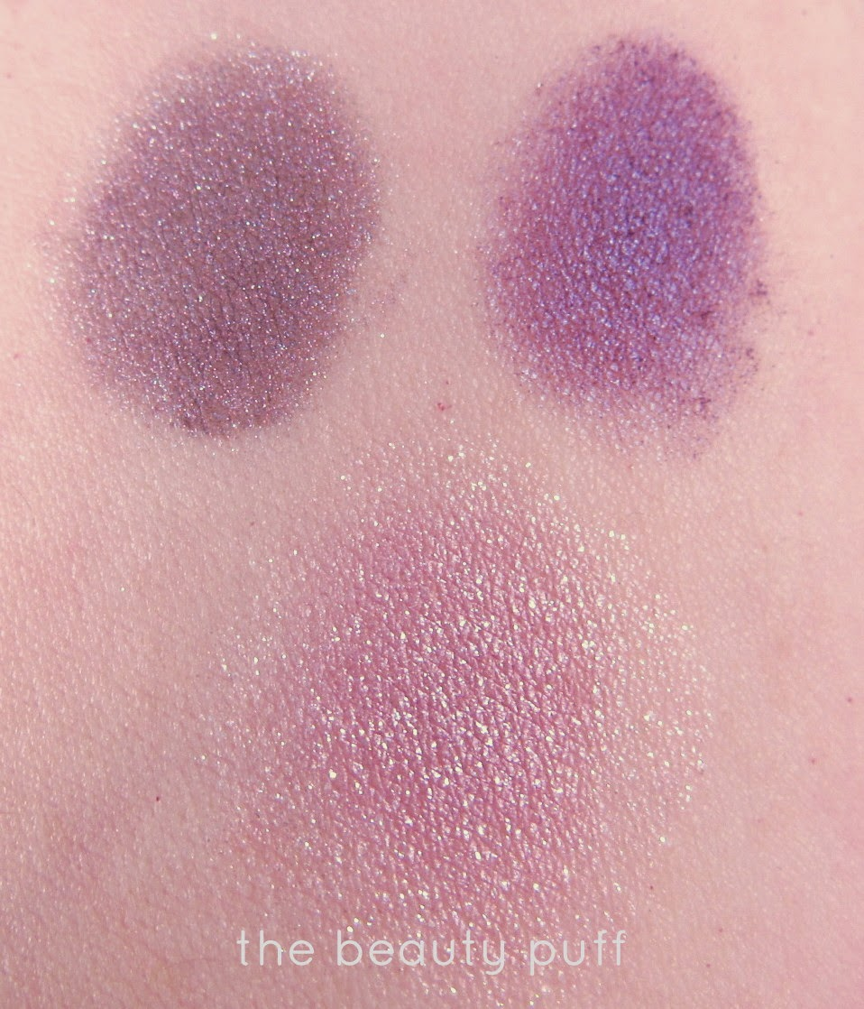 bellapierre morphe brushes colour pop swatches - the beauty puff