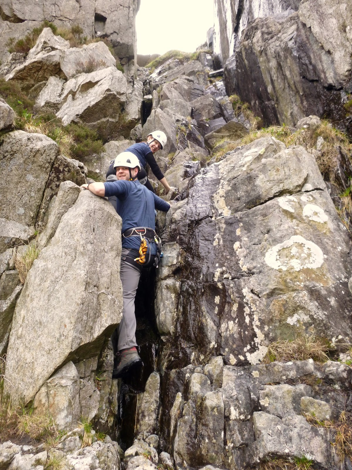 Scrambling Skills Training Courses In North Wales May 23rd 24th 2015