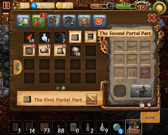 Craft the World - The Portal Parts Description