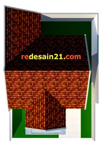 Gambar Desain Rumah Minimalis Type 90 - Model Atap