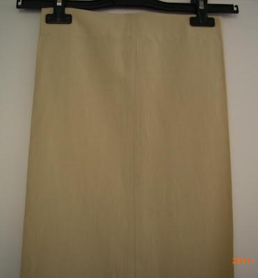 MANGO – Pantalon beige - T42 – TRES BON ETAT