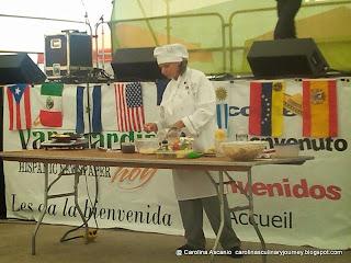 2014 Dayton Hispanic Heritage Festival Cooking Demo