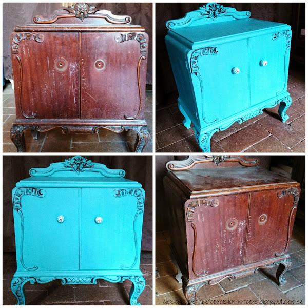 Rellenar agujeros en la madera hacer bricolaje es for Fotos de muebles antiguos restaurados