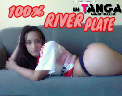 lara+hincha+de+river+plate+en+tanga Tanga de Facebook #13