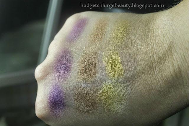 bh cosmetics swatch