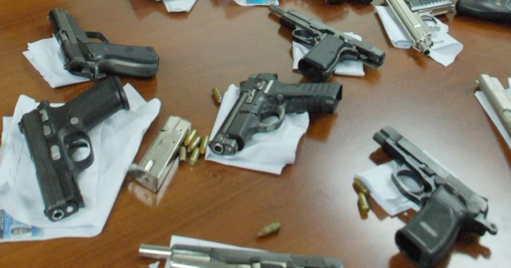 interior y polic a incautar armas con licencias vencidas