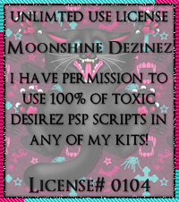 PU Unlimited Usage Licence Toxic Desirez