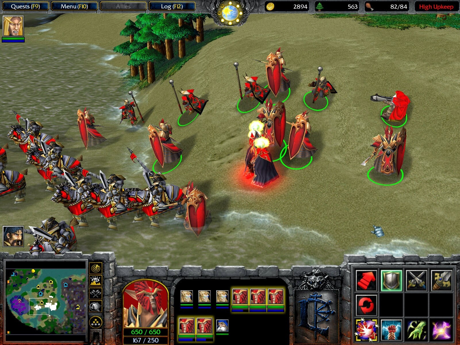 Warcraft 3 Frozen Throne Screenshot