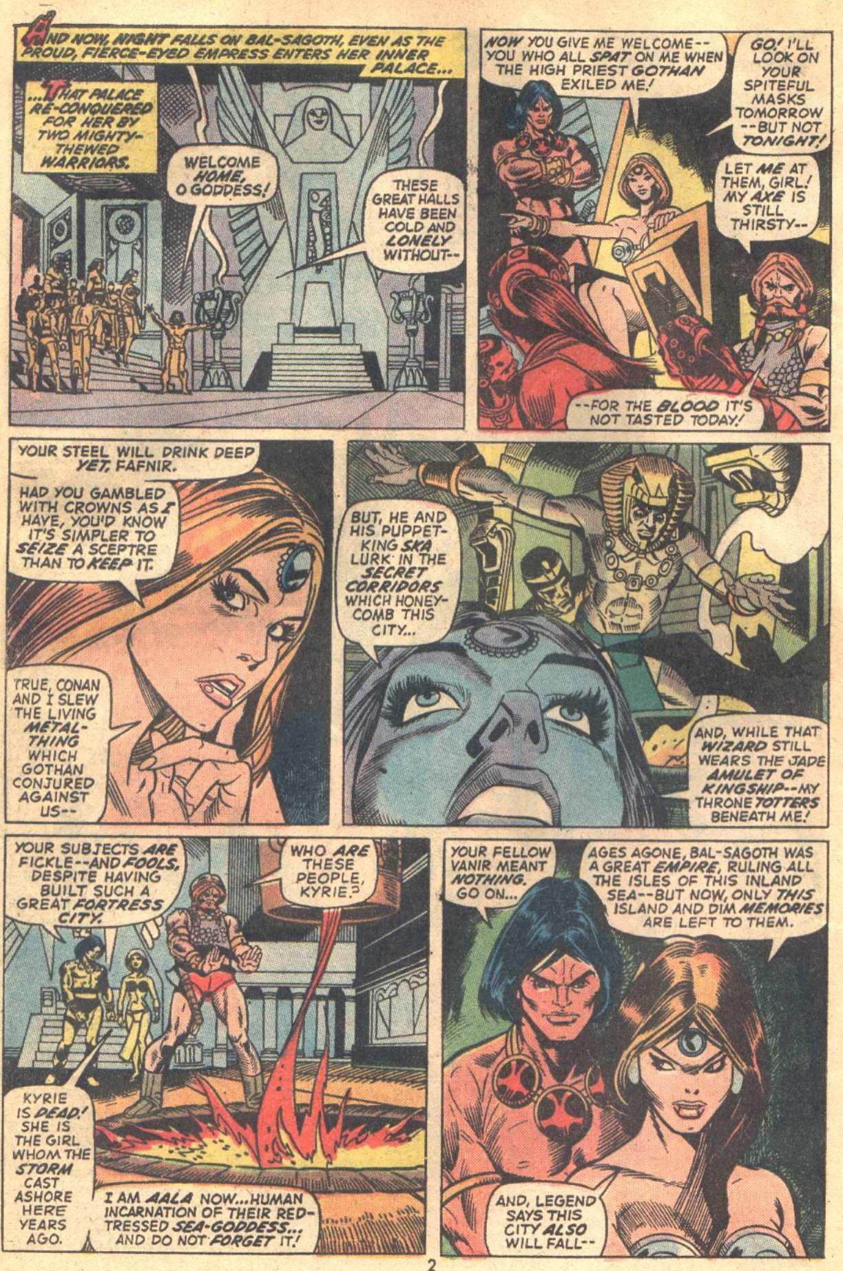 Conan the Barbarian (1970) Issue #18 #30 - English 3