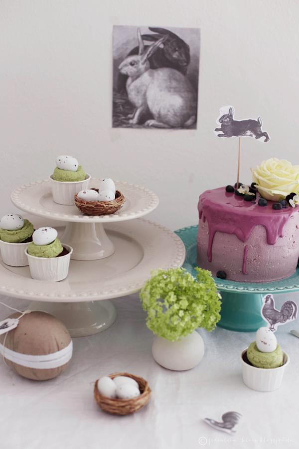 oster sweet table eierlik r heidelbeer torte mit guss. Black Bedroom Furniture Sets. Home Design Ideas