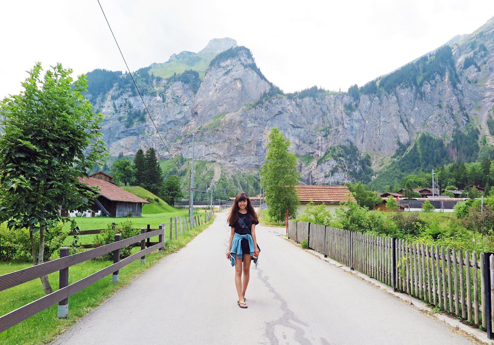 rachelays: europe travels: kandersteg, switzerland
