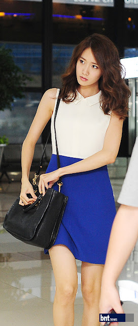 Picture of YOONA SNSD at Gimpo Airport