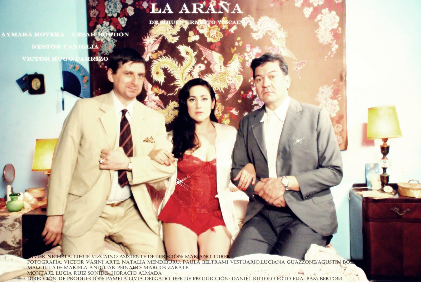 Aymará Rovera  Film La Araña