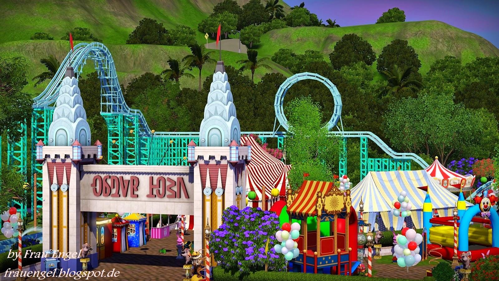 Sims 3 батут