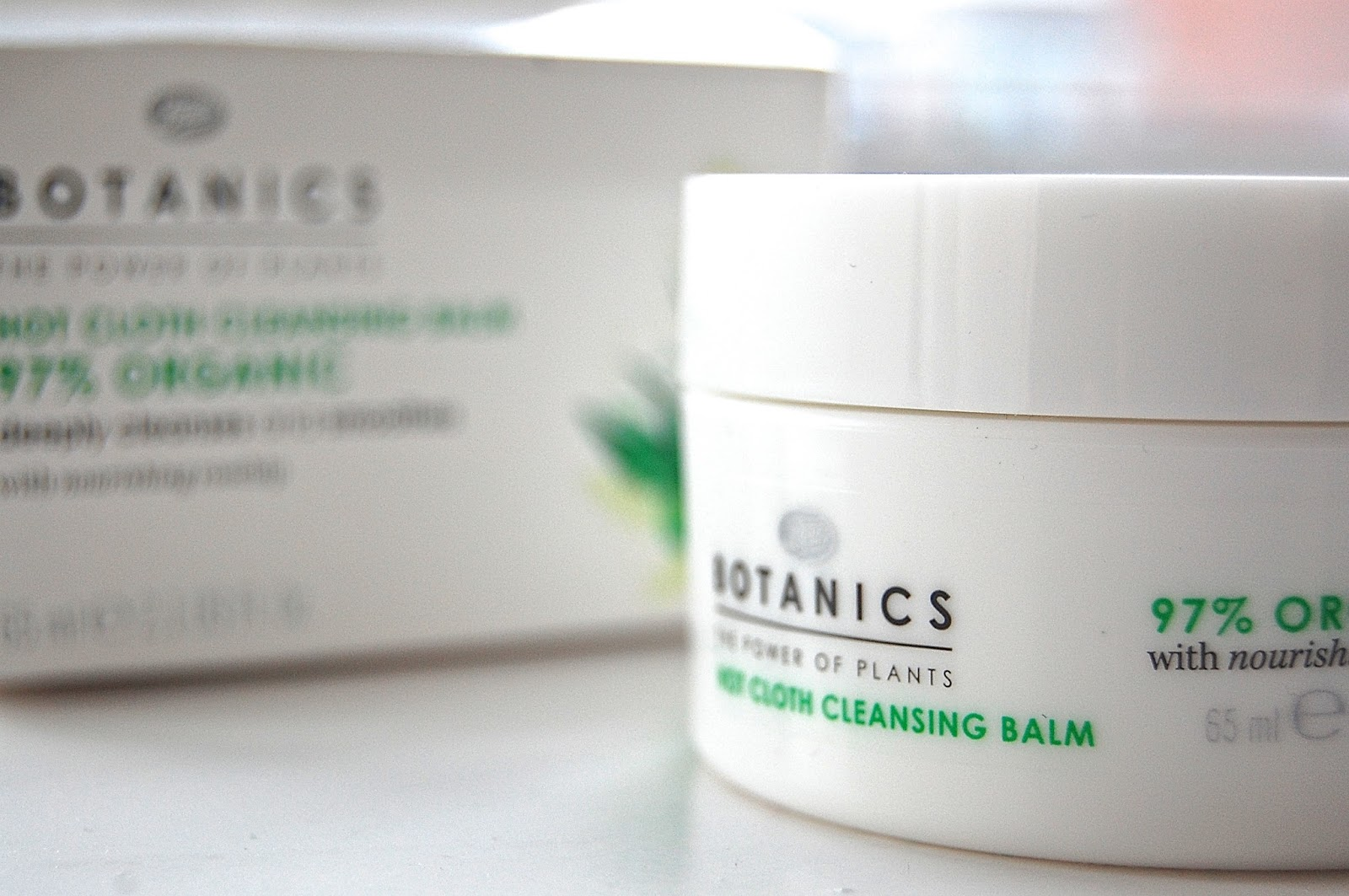 Botanics Hot Cloth Cleansing Balm