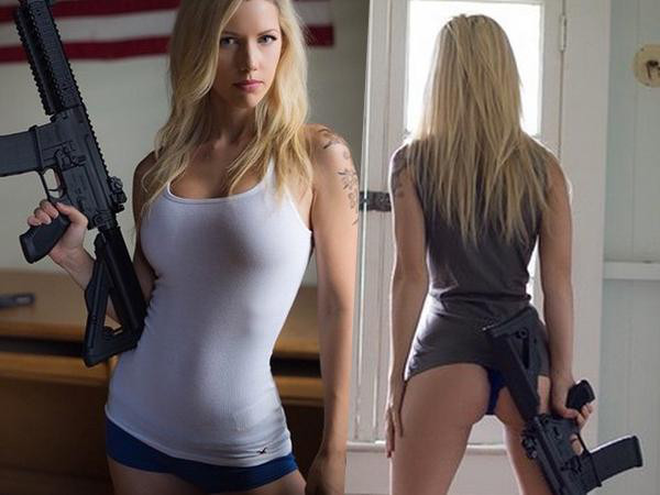 Gun blog girls with guns beat the summer for Hot blog photos