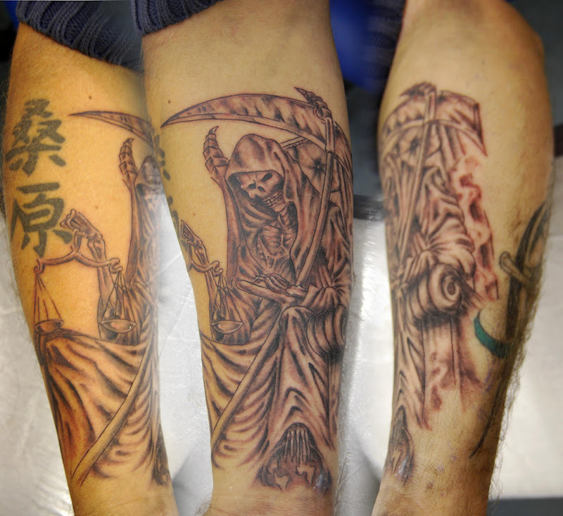 Death Tattoos Designs title=