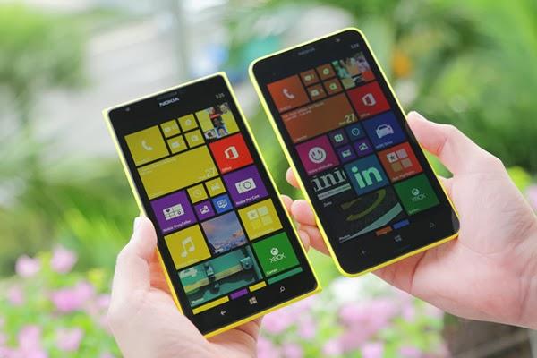 Nokia Lumia 1520 and Nokia Lumia 1320
