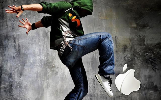 Kicking Apple