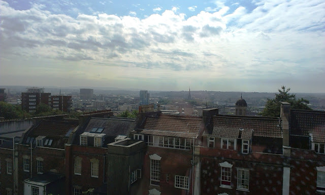 View of Bristol city centre