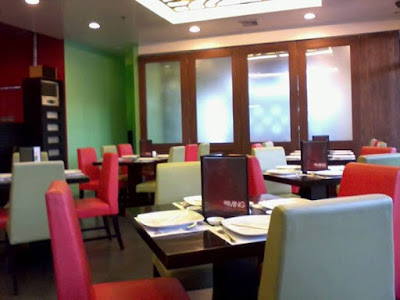 Interior of Ming Dimsum & Noodle