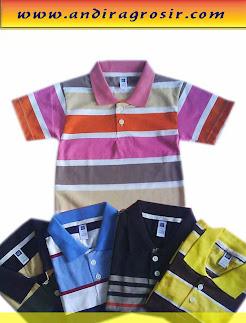 Kaos Anak Salur Krah