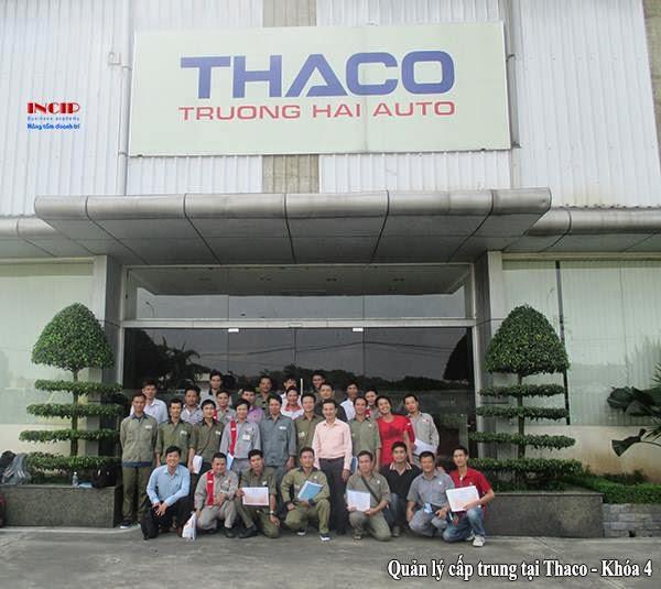 khóa học quản lý cấp trung tại Thaco tháng 6